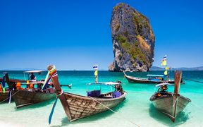 Phuket is an international magnet for beach lovers and serious divers in the Andaman Sea.