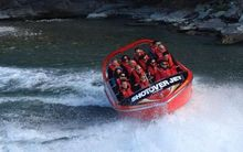 Prince William and Catherine on the Shotover River.