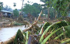 The quakes occurred as Solomon Islands recovers from flash floods.