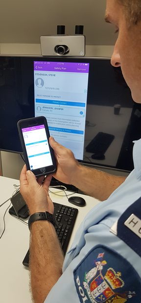 Police will use the app, Family Harm, to log details of each call-out relating to domestic violence incidents and access new investigation tools.