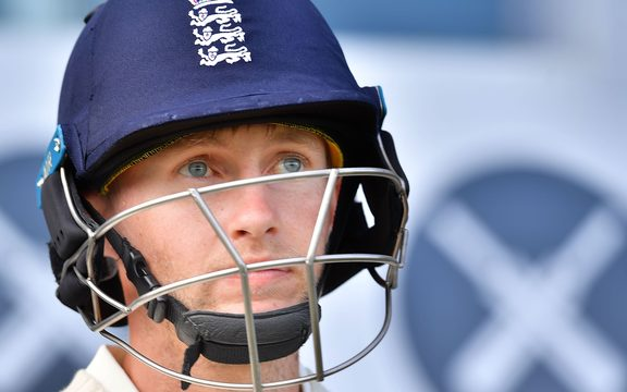 England cricket captain Joe Root.