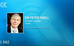 Dick Quax part of NZ's 'heritage'   Peter Snell: RNZ Checkpoint