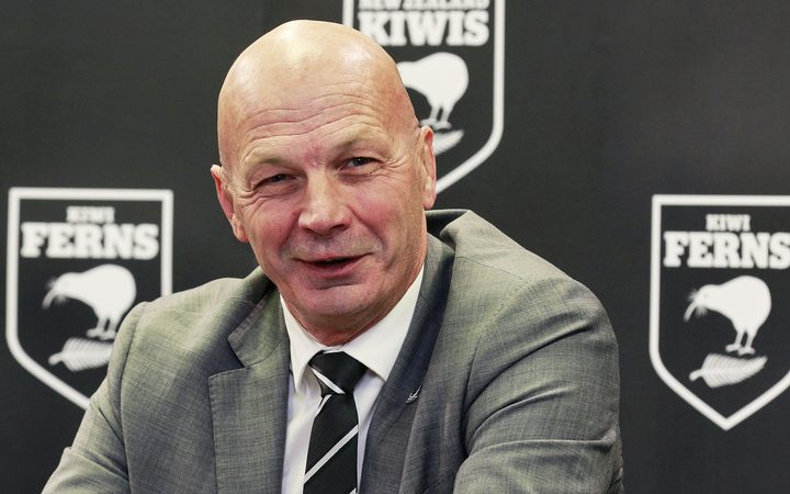 New NZRL chief executive Greg Peters.