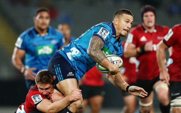 Blue's midfielder Sonny Bill Williams