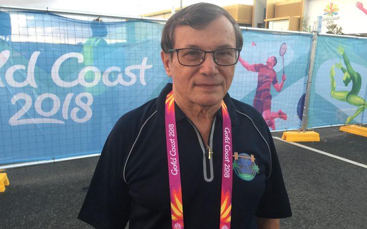 Oceania and Commonwealth Weightlifting Federation General Secretary Paul Coffa.