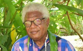 Jonas Cullwick, the late Vanuatu journalist.