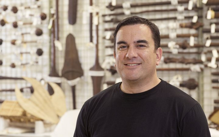 Te Papa's senior curator Pacific Cultures, Sean Mallon.