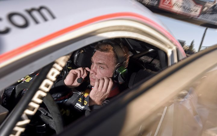 New Zealand rally driver Hayden Paddon