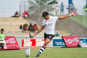 Ben Volavola added a try and two conversions in Fiji's win.