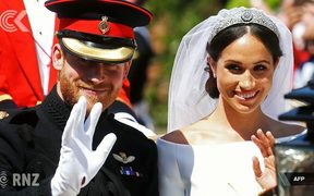Royalists giddy at Duke and Duchess of Sussex tour