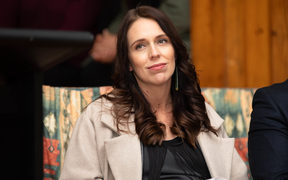 Jacinda Ardern in Northland June 2018