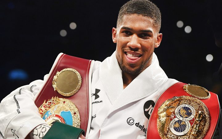 Anthony Joshua holds numerous world titles.