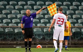 Assistant Referee Glen Lochrie.