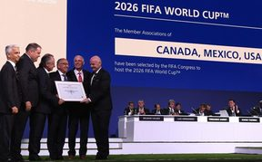 Canada, Mexico and the United States will  jointly host the 2026 World Cup.