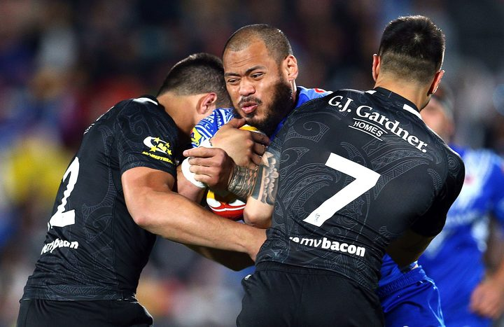 Leeson Ah Mau played for Samoa at the World Cup but is expected to switch allegiance to New Zealand.
