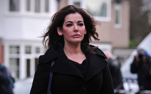 Nigella Lawson arriving at Isleworth Crown Court to give evidence in December last year.
