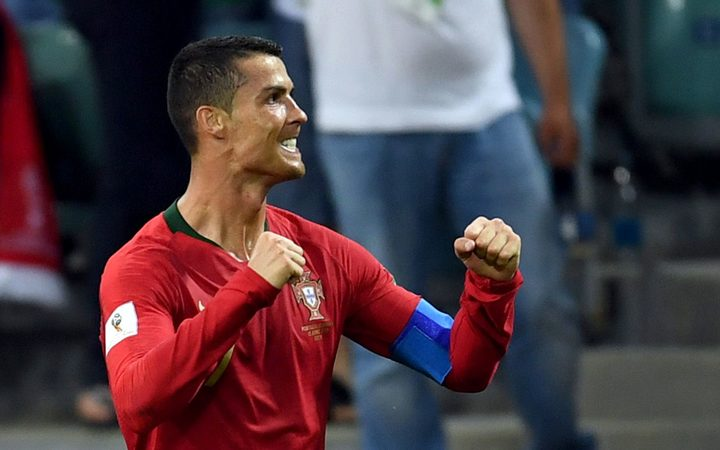 Ronaldo scores hat trick, Portugal draws 3-3 with Spain