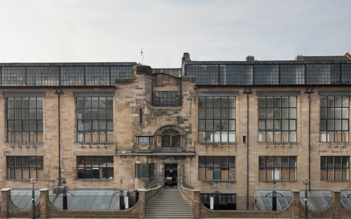 The Glasgow School of Art's Mackintosh Building