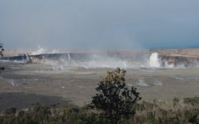 Halema`uma`u Crater on June 13, 2018