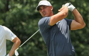 Brooks Koepka has defended his US Open.