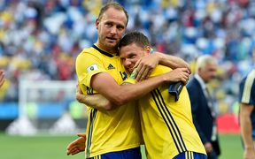 Andreas Granqvist and Marcus Berg (Sweden)