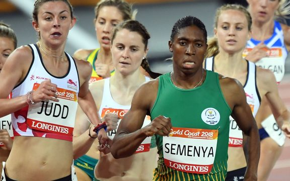 World and Olympic 800m champion Caster Semenya.