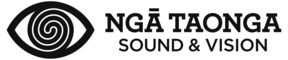 Logo of Nga Taonga Sound & Vision
