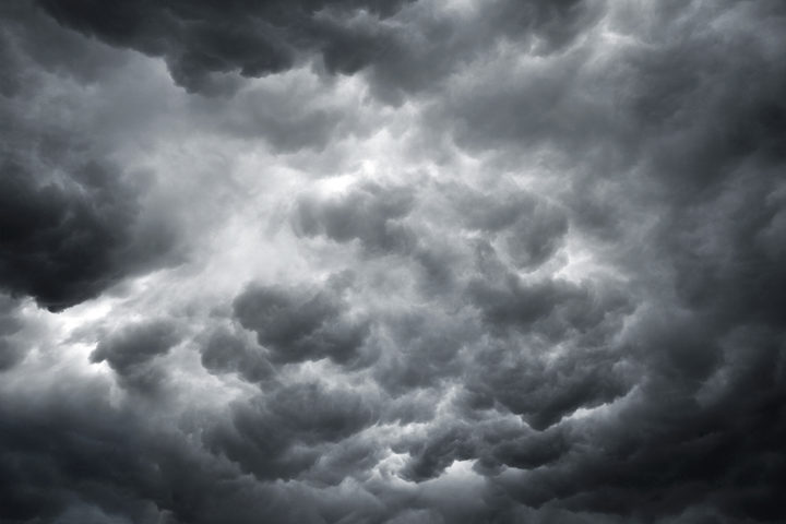 Dark and ominous storm clouds. (File)