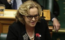 Judith Collins in Parliament on Thursday.