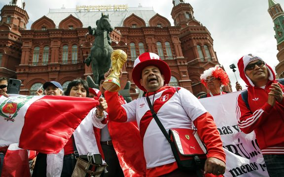 South American beat dominates Moscow streets.
