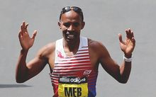 Meb Keflezighi was the first US male athlete to win the Boston Marathon in decades.