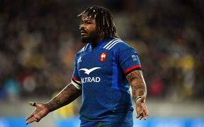 France's captain Mathieu Bastareaud.