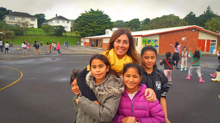 Maraeroa School principal Kathleen O'Hare is enthusiastic about the local schools working together