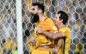 Socceroos captain Mile Jedinak.