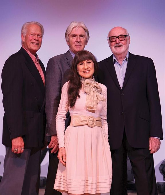 The Seekers 50th anniversary, 2012 - Keith Potger, Bruce Woodley, Judith Durham, Athol Guy