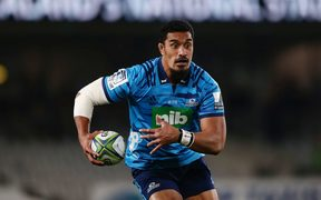 Jerome Kaino in his last match for the Blues at Eden Park