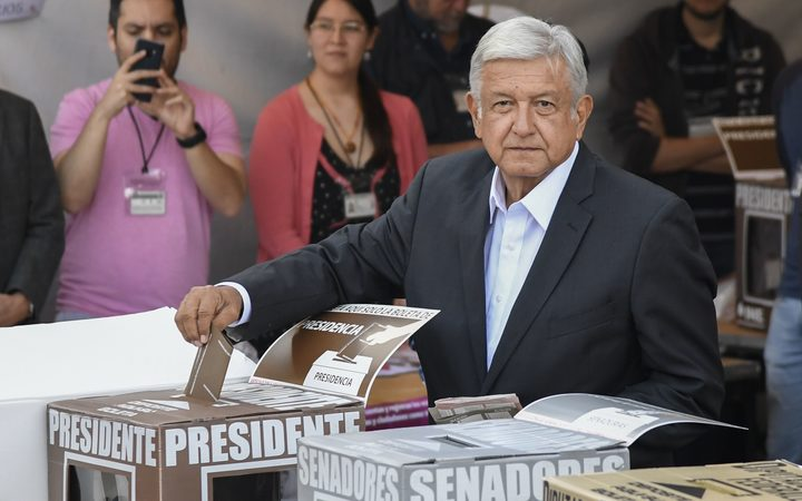 Mexico's Lopez Obrador claims win in presidential vote