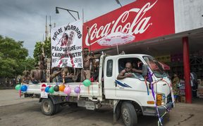 Global heavyweights like Coca-Cola have a foothold around the Pacific, such as here in a town on Papua New Guinea's Rabaul.