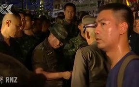 12 Boys and their soccer coach found alive in Thailand caves: RNZ Checkpoint