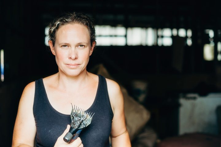 Emily Welch was one of the first competitive female shearers in New Zealand, and still holds a shearing world record