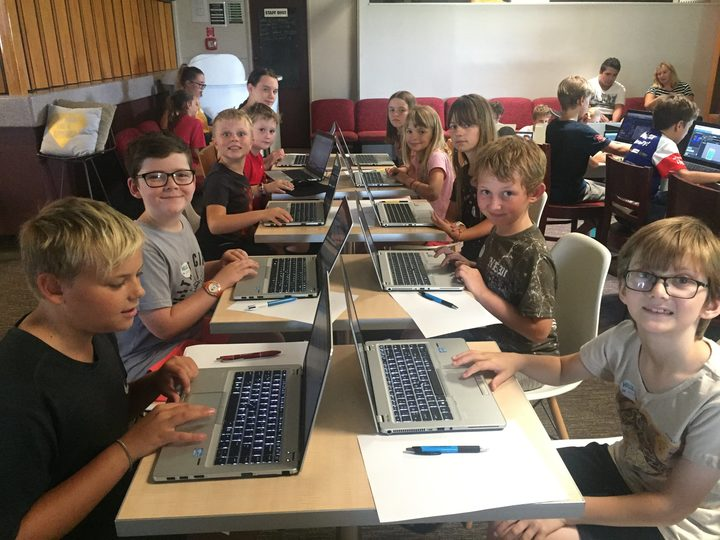 Venture Centre's youth coding sessions with recycled hardware