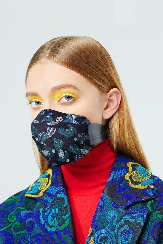 MEO + Karen Walker Anti-Pollution Mask Fashion Series