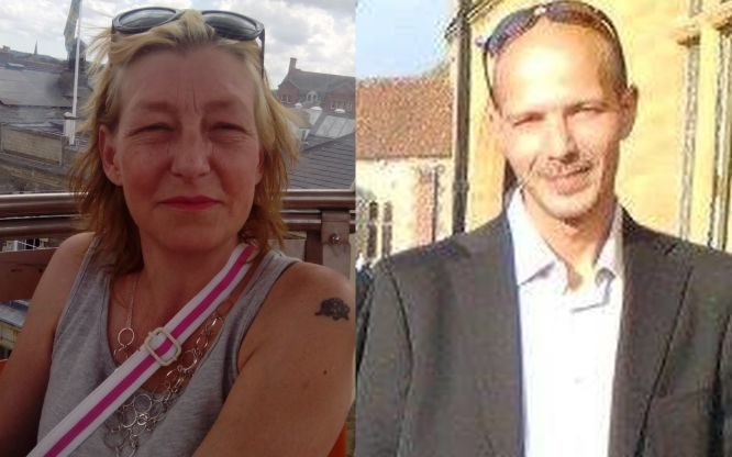 Poisoning victims Dawn Sturgess and Charlie Rowley.