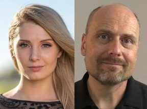 Lauren Southern and Stefan Molyneux