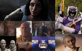 Some of the many films and TV shows featuring digital effects from NZ companies Weta Digital and PRPVFX