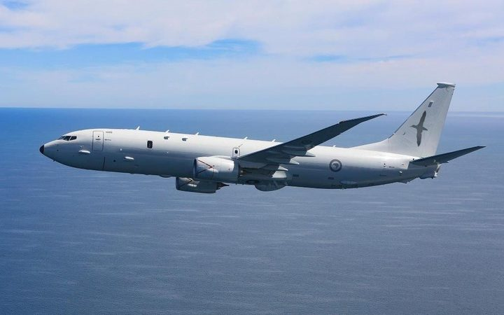 An image of the P-8A Poseidon aircraft that is set to replace the Air Force's Orion planes.