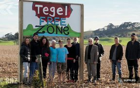 Mega chicken farm protest ramps up