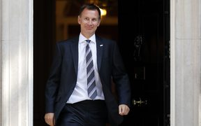 Britain's Health and Social Care Secretary Jeremy Hunt was appointed Foreign Secretary, replacing Boris Johnson.