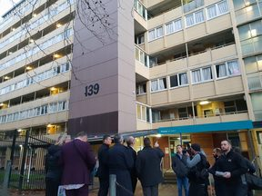The state housing high-rise at 139 Greys Ave will soon be demolished to make way for 280 new units.