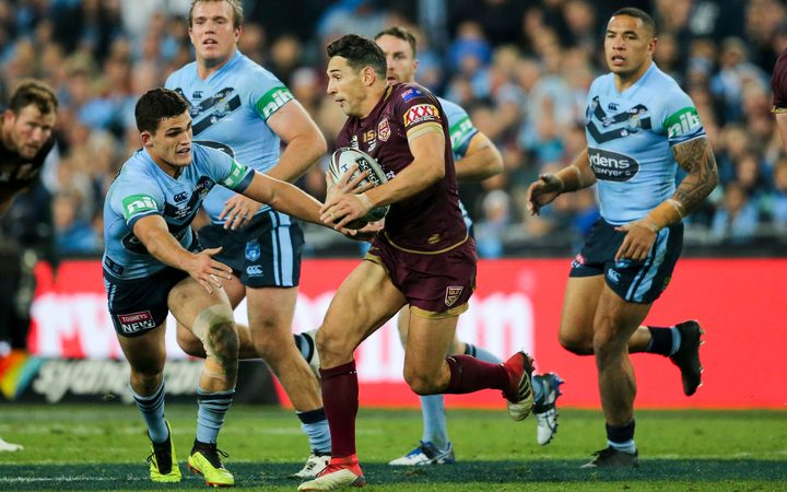 Queensland captain Billy Slater during State of Origin game two